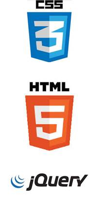 CSS 3, Html 5, jQuery