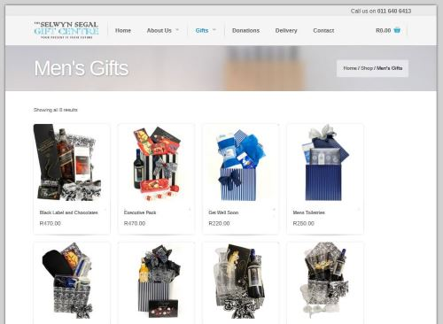 Selwyn Segal Gift Store Website by ThoughtCorp